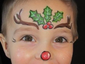 Christmas Face Paint.Christmas Face Painters Fullcircle